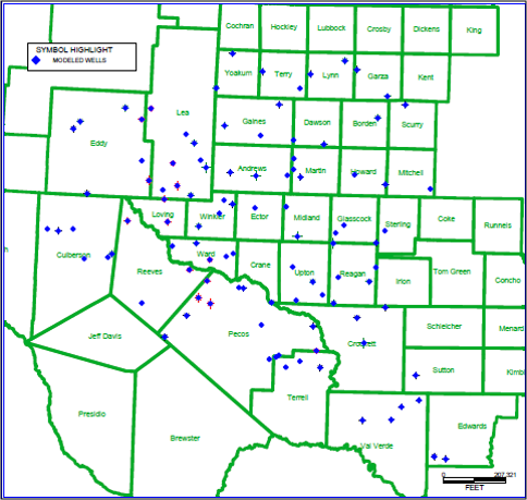 Permian Basin Basic Map